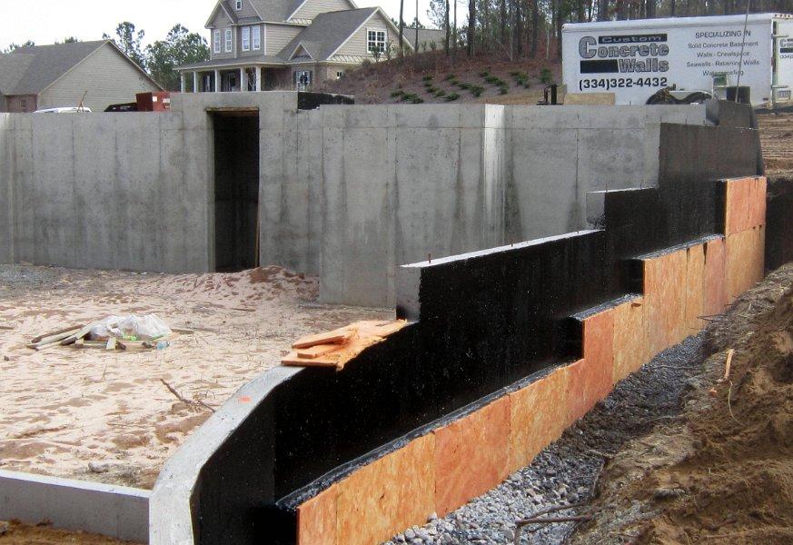 Foudation Waterproofing Waterproof Concrete