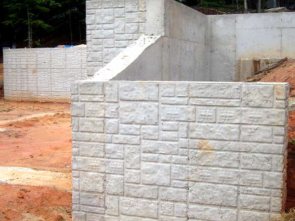 Alabama Ashlar Walls